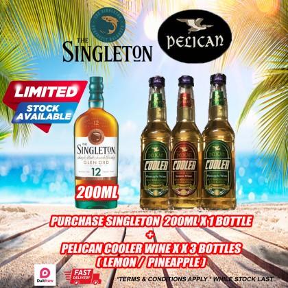 Singleton 200ml with Pelican Wine