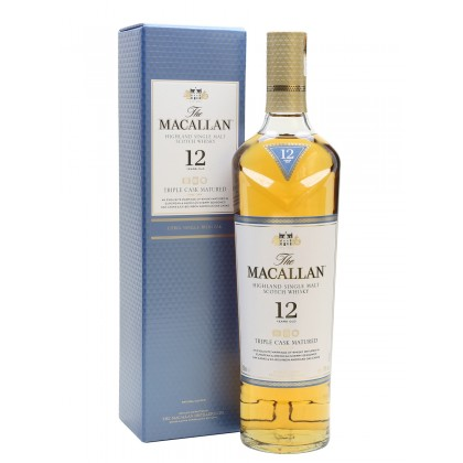 Macallan 12 Year Old triple cask