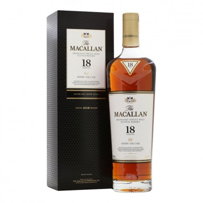 The Macallan 18 year Sherry Cask 2018 Release