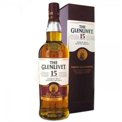 Glenlivet 15 Year Old / French Oak Reserve