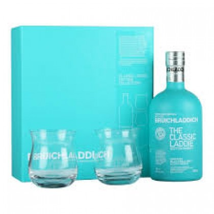 Bruichladdich The Classic Laddie with 2 glass pack