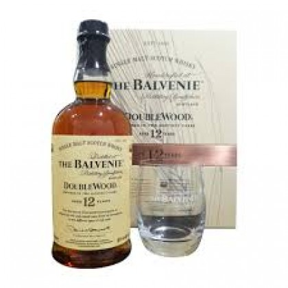 Balvenie 12 Years Double Wood (Gift Box Set)