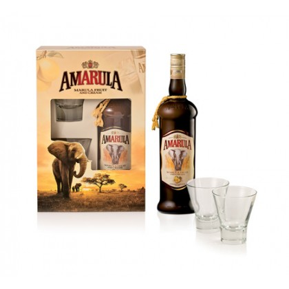 Amarula (Free 2 Glasses and 1 mini Liquer)