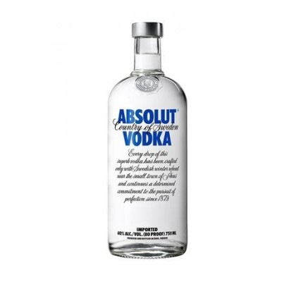 Absolut Vodka Originality Blue